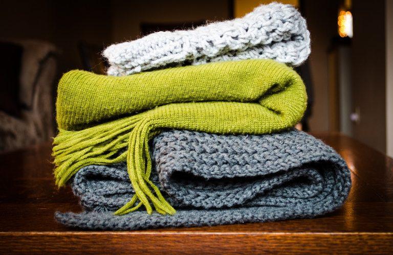 fare una sciarpa