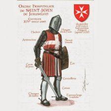Un cavaliere Ospitaliere,