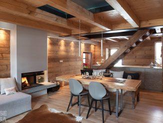 Cinque modi per arredare casa con travi a vista
