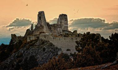 Altra veduta del Castello di Cachtice