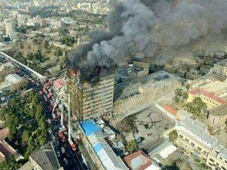 crollo grattacielo teheran