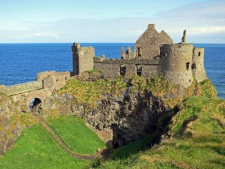 Castello di Dunluce in Irlanda del Nord