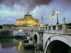 Ponte Sant'Angelo, dove passerebbe il fantasma di Beatrice