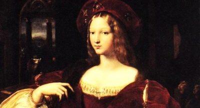 Ritratto di Giovanna II d'Angiò