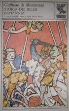 "Una copertina di ""Storia dei Re di Britannia"" di Geoffrey Monmouth"