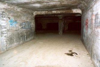 Altro tunnel degradato della struttura