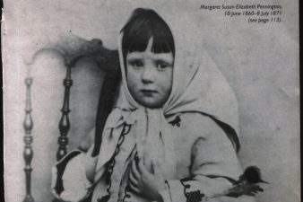 La piccola Margaret Pennington