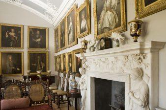 Ritratti della famiglia Pennington nel castello