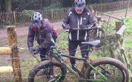 recupero bici su recinto elettrificato