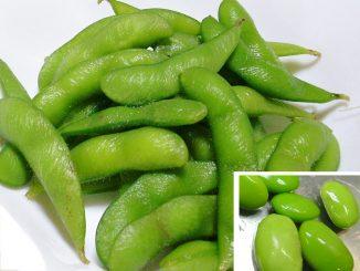 Soia verde secca e fresca: calorie