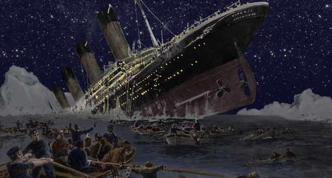 Il Titanic Non 232 Affondato A Causa Di Un Iceberg Nuova