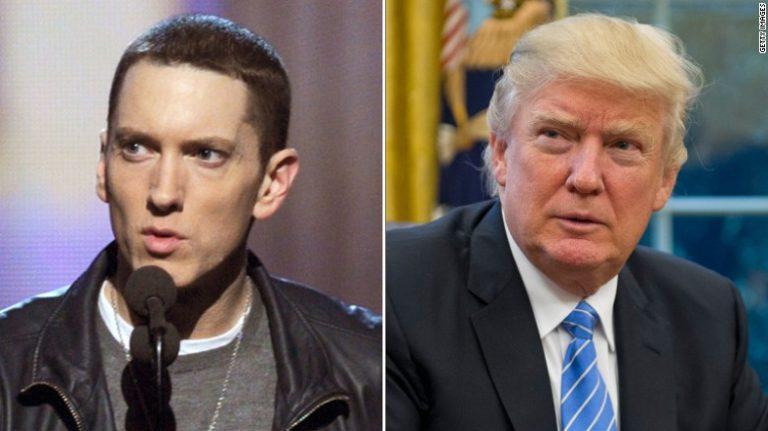 Eminem attacca Trump