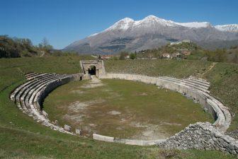 Altro scorcio del sito archeologico