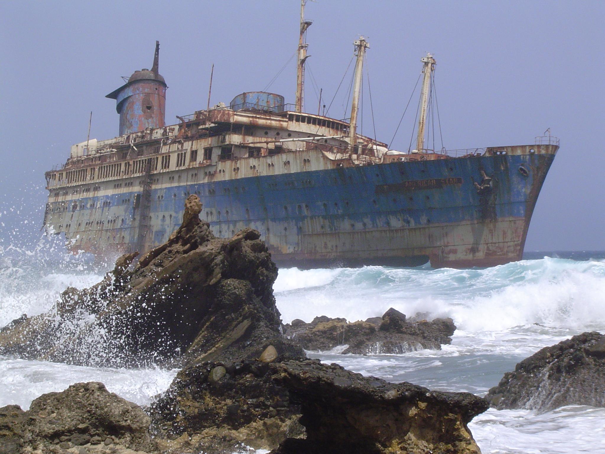 L'SS America nel luglio 2004