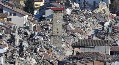 Il sindaco Pirozzi ha chiesto una no tax area per le zone terremotate.