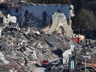 Amatrice sei mesi dopo il sisma: le foto della distruzione
