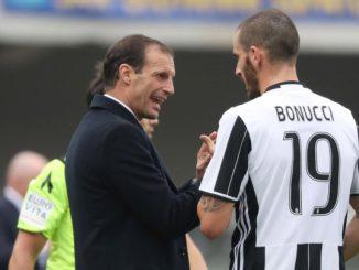 Juve: caso Bonucci-Allegri molto più grave del previst