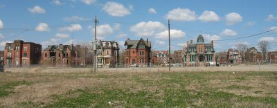 Brush Park a Destroit