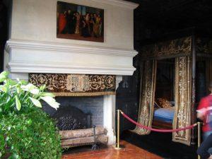 Camera di Luisa di Lorena nel castello