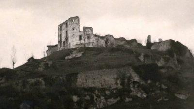 Vecchia immagine del Castello di Pinzano
