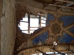 Interno della Chiesa di San Nicola abbandonata