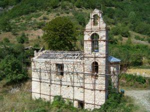 Chiesa di San Nicola in restauro