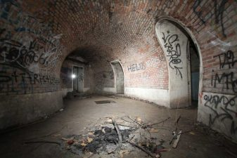 Corridoio nel bunker