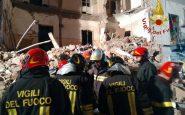Crollo palazzo a Catania