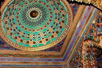"""Una delle cupole laterali del """"Corridoio delle Stalattiti"""""""