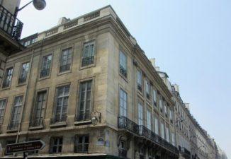 Un edificio di Rue des Saints Pères