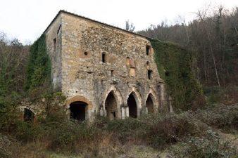 Altra veduta dell'eremo abbandonato
