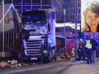 """Germania, strage Berlino: """"Nessun risarcimento per la ragazza italiana uccisa"""""""