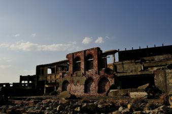 Altra struttura abbandonata di Hashima