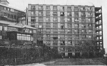 Hashima apartment building circa 1930