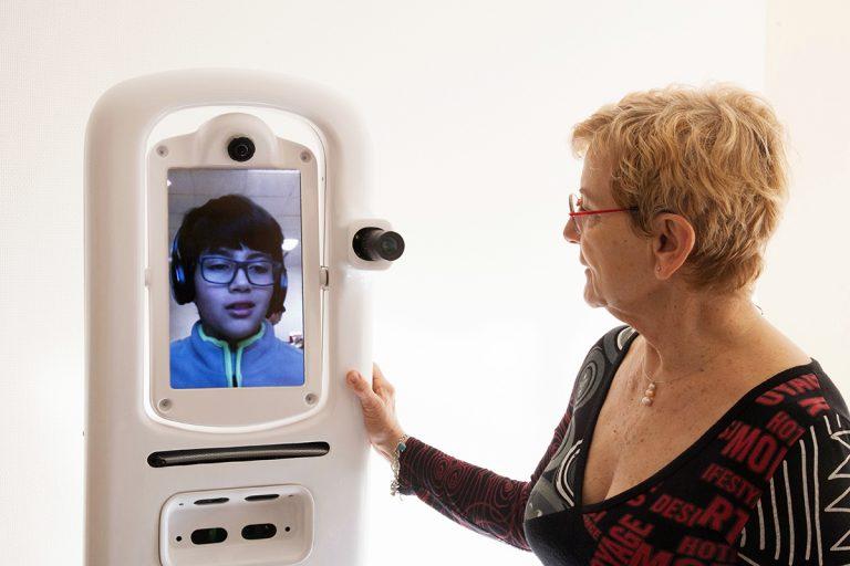 Teresa: il robot-avatar che aiuta le persone lontane