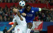 Champions League, Siviglia-Leicester 2-1: Vardy accende la speranza ma è troppo tardi