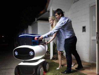 Il robot fattorino che consegna tutto a domicilio: il video