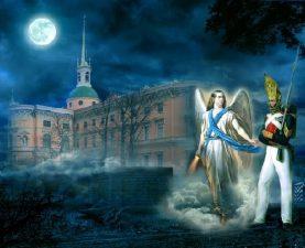 Illustrazione della leggenda del castello