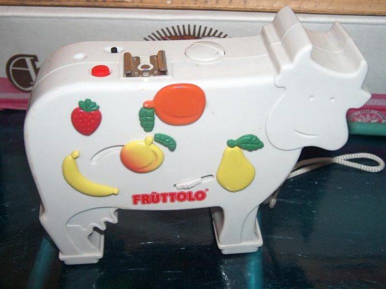 La mucca di Fruttolo, l'oggetto adorato da ogni bambino