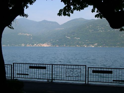 Luino, vista sul lago