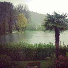 Pioggia a Luino