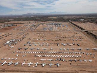 AMARG, cimitero degli aerei a Tucson in Arizona