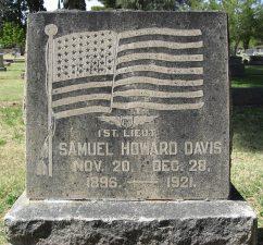 Tomba di Samuel H. Davis
