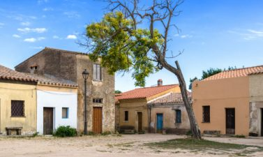 San Salvatore ricorda un villaggio western