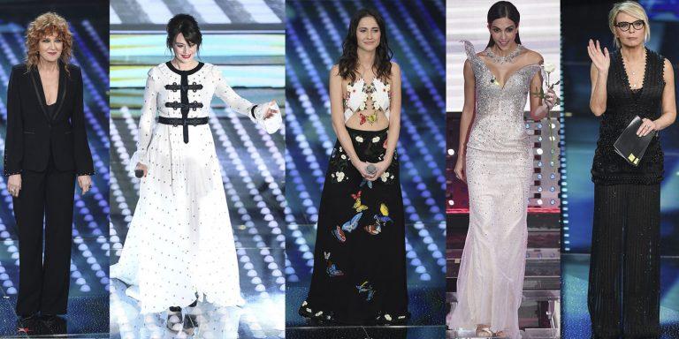 Sanremo 2017: i peggiori look della serata