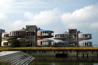 Le UFO Houses di Sanzhi