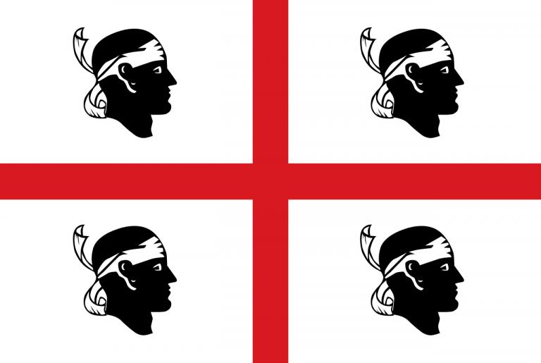 Sardegna: cosa significa la bandiera