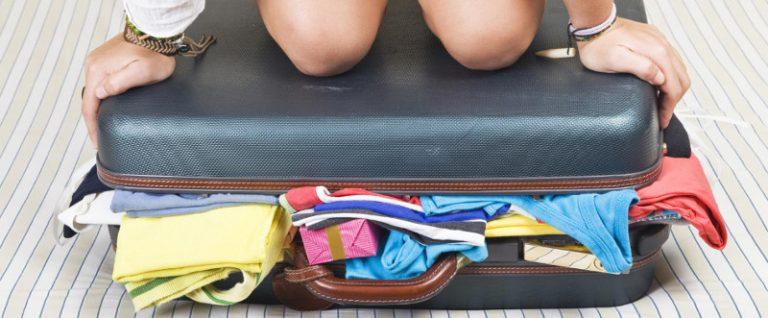 Sei trucchi per preparare le valigie