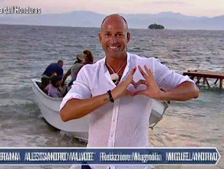 Stefano Bettarini invia un cuore per la sua Dayane Mello