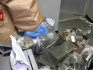 Torino: distrutti dalla polizia 400 kg di droga